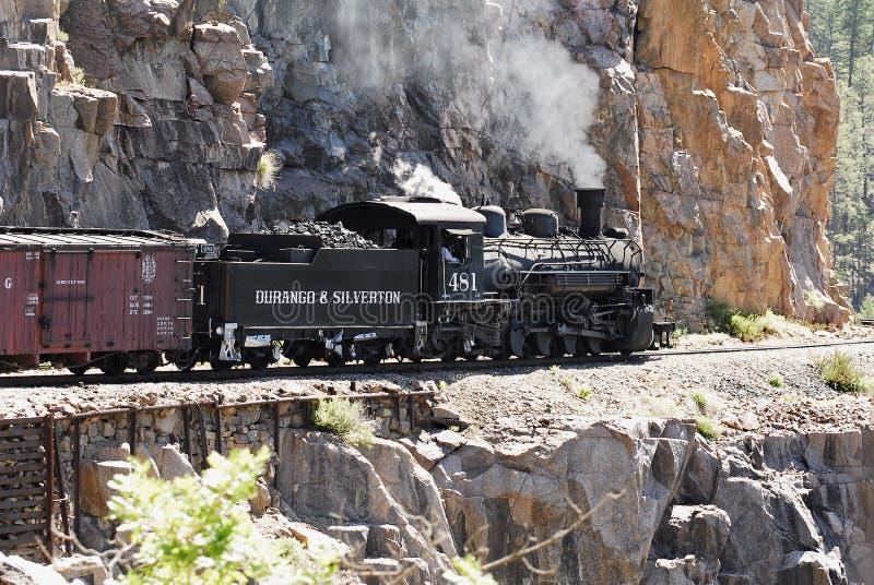 Durango & Silverton Engine 481 royalty free stock photo