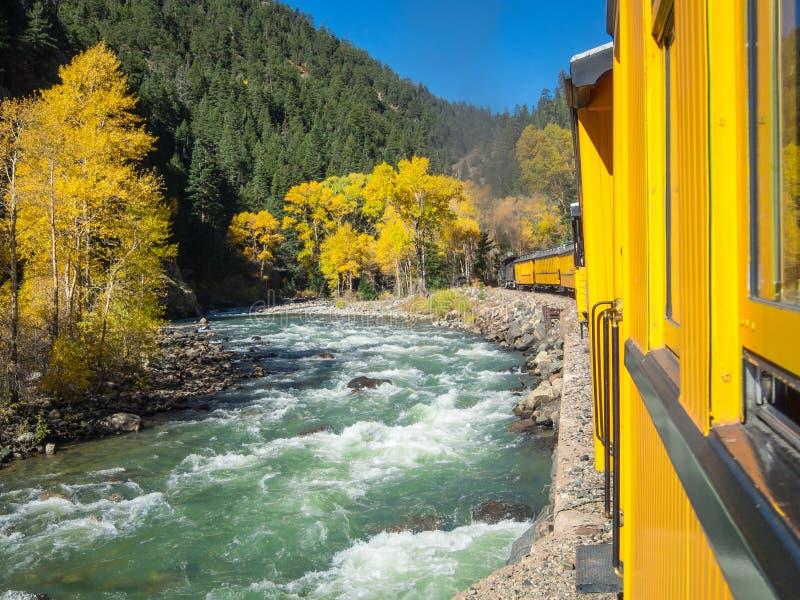 Durango Silverton linia kolejowa zdjęcie stock