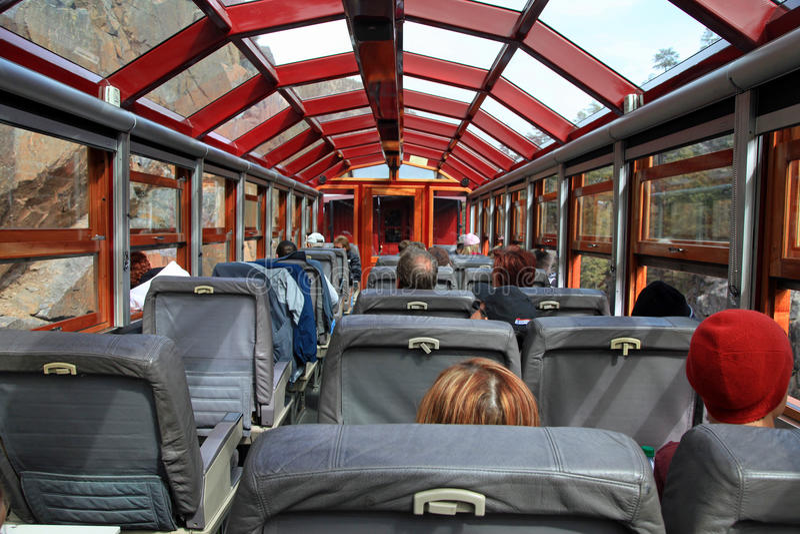 Durango and Sliverton Railroad passenger car stock photos
