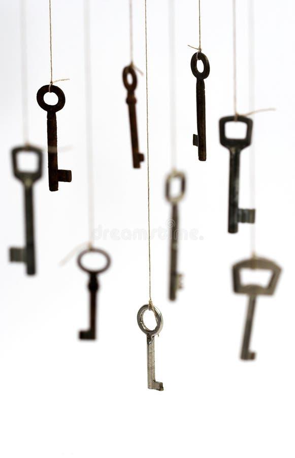 Durante chaves imagem de stock