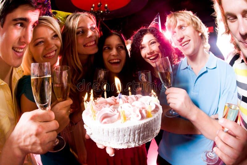 Durante cumpleaños foto de archivo libre de regalías