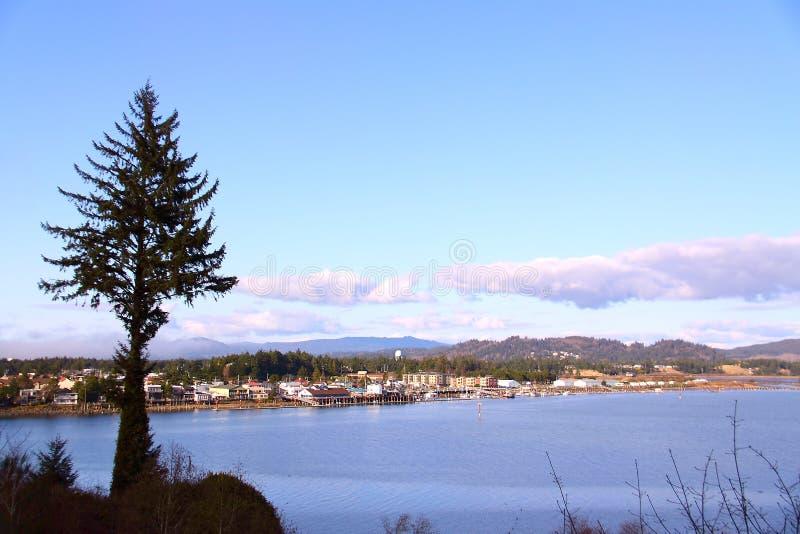 Durante el día en Florencia, Oregon foto de archivo