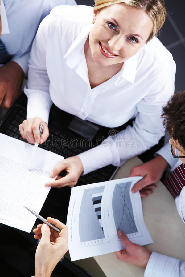 Durante negociaciones imagenes de archivo