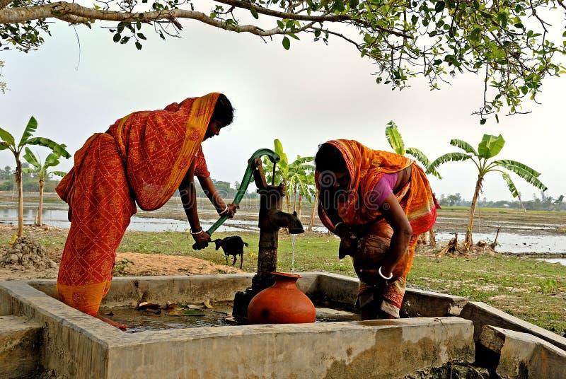 Durata del villaggio di Sundarban fotografia stock libera da diritti