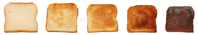 Durata di scarsità di pane tostato immagine stock libera da diritti
