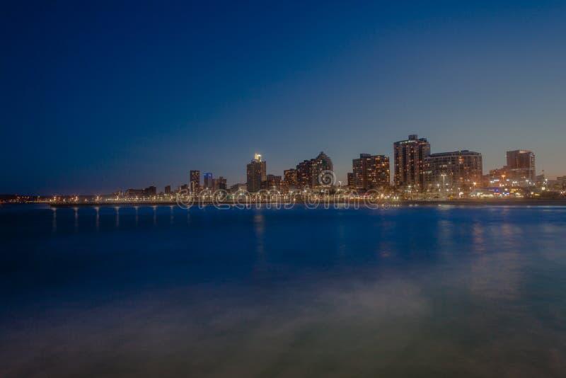 Download Durban Beachfront Sunset editorial photo. Image of durban - 28935631