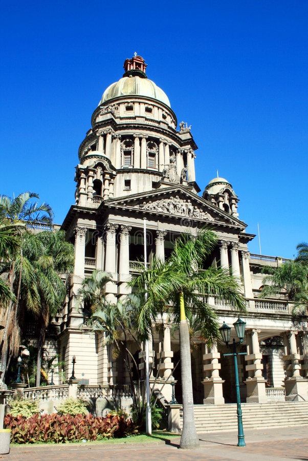 Durban city hall royalty free stock image
