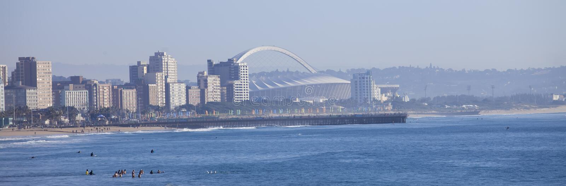 Durban city skyline royalty free stock images
