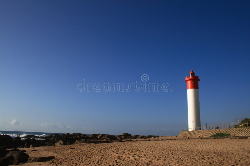 Durban lighthouse royalty free stock photos