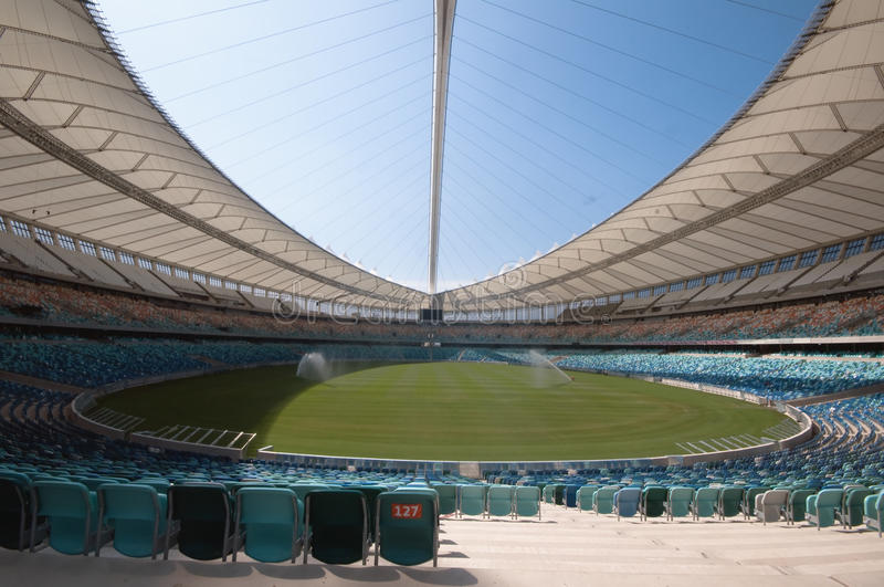 The Durban Moses Mabhida Soccer Stadium stock image