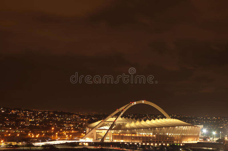 The Durban Moses Mabhida Soccer Stadium royalty free stock image