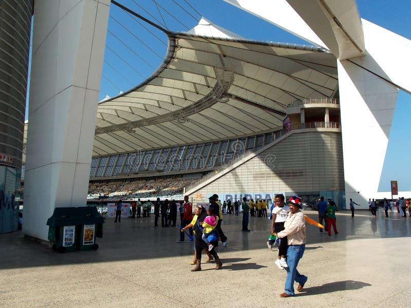 Durban moses mabhida royalty free stock photo