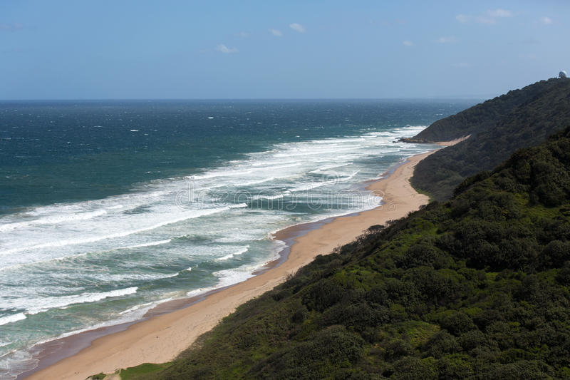 Durban south beach royalty free stock image
