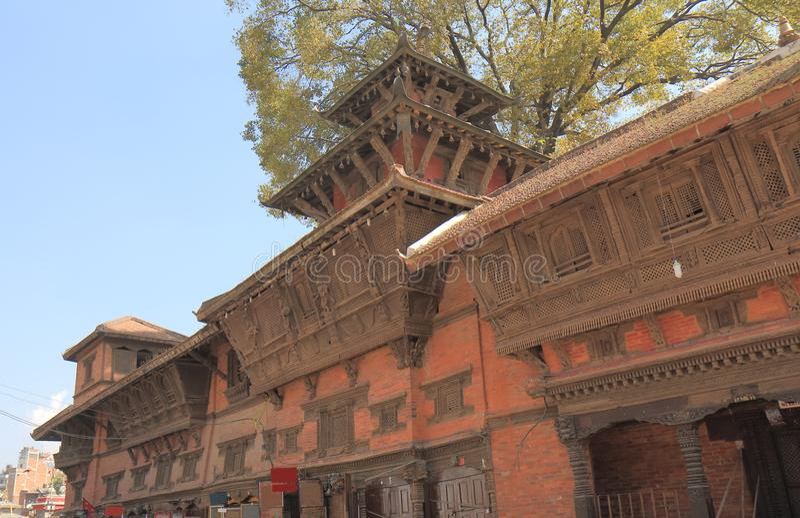 Durbar Kathmandu quadrado Nepal fotos de stock royalty free