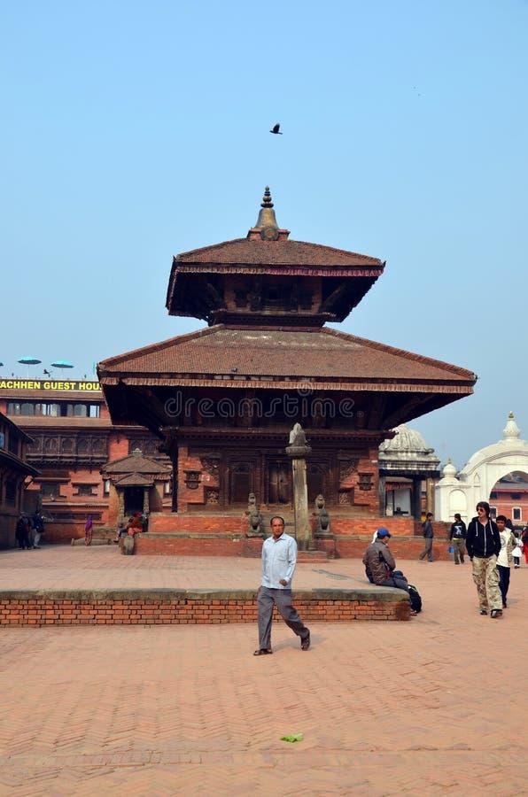 Durbar kwadrat w Bhaktapur, Nepal zdjęcie royalty free