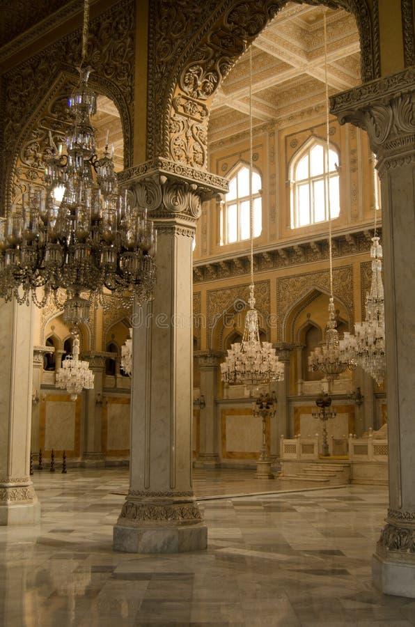 Durbar Pasillo, palacio de Chowmahalla fotos de archivo