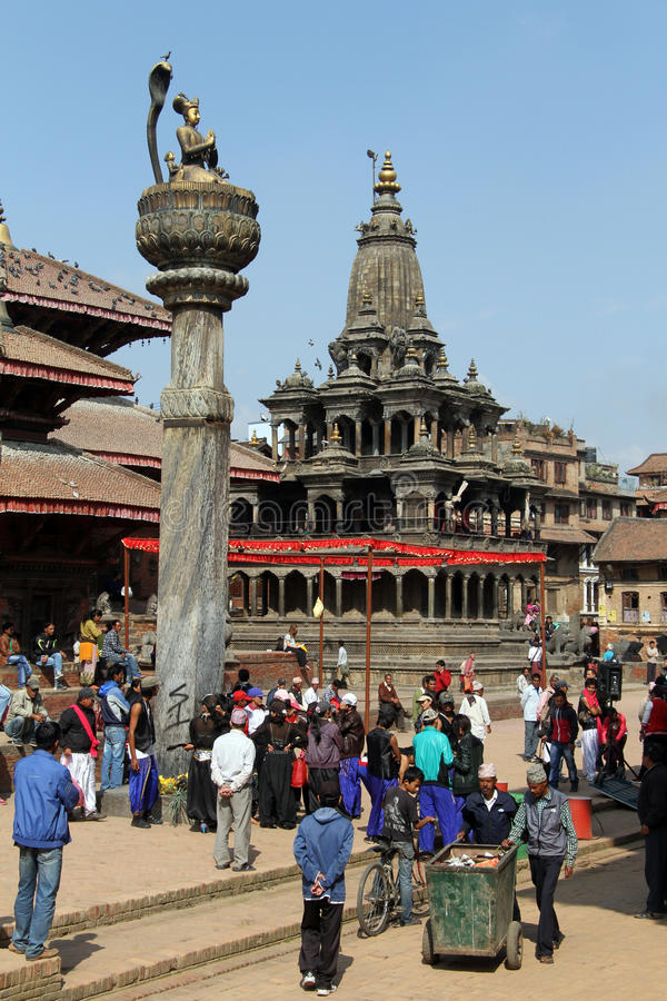 Durbar square stock photos