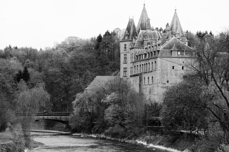 Durbuy Castle - Βέλγιο στοκ εικόνες