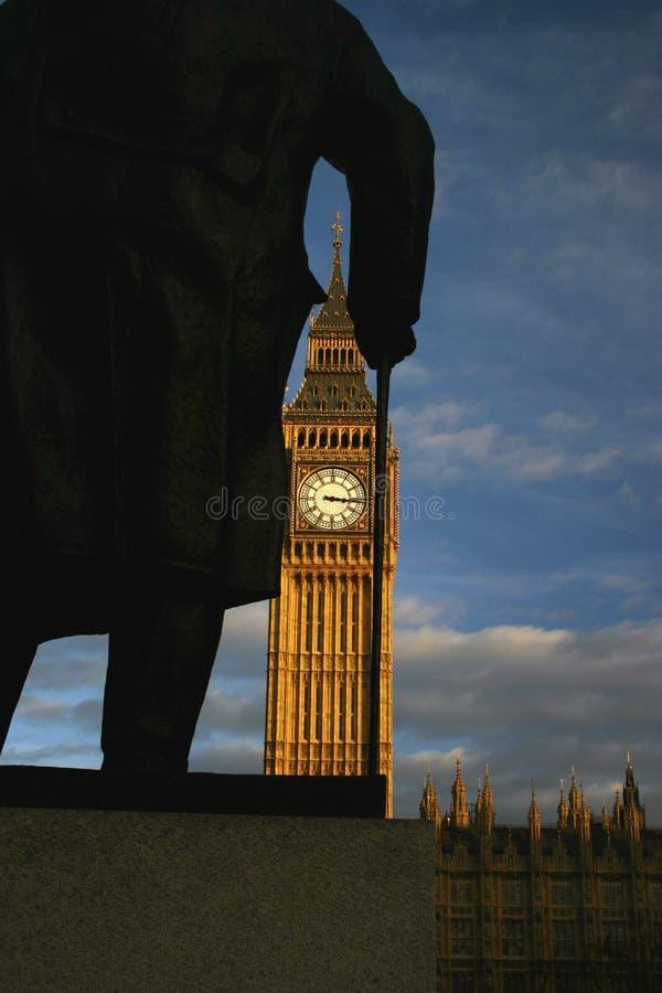 Durch Churchills Augen Stockfoto