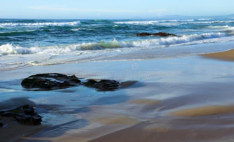 Durch das Meer stockfoto