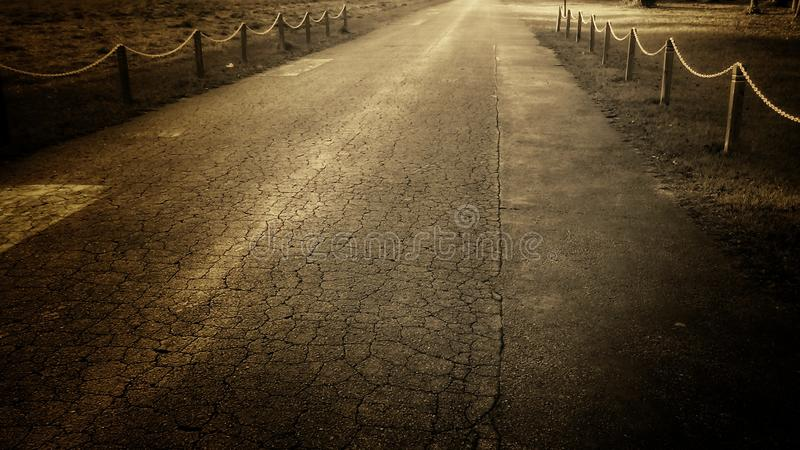 Durchaus Straße lizenzfreies stockbild