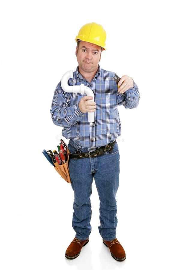 Durcheinander auf dem Job stockfoto