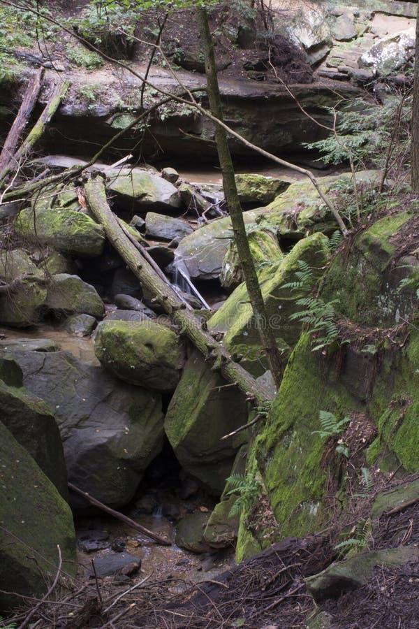 Durcheinander von Felsen stockbild