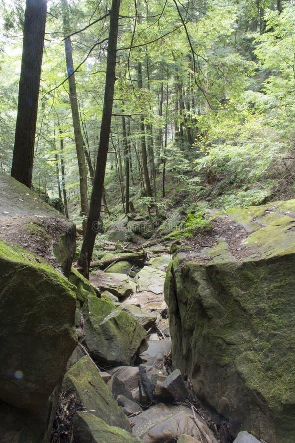 Durcheinander von Felsen stockfotos
