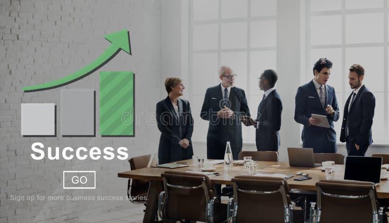 Durchführungs-Leistungs-Konzept der Erfolgs-hervorragenden Leistung stockfotos