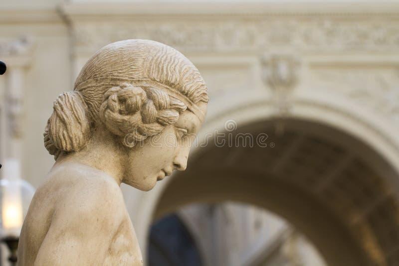 Durchgang Pommeraye-Statue stockfotografie