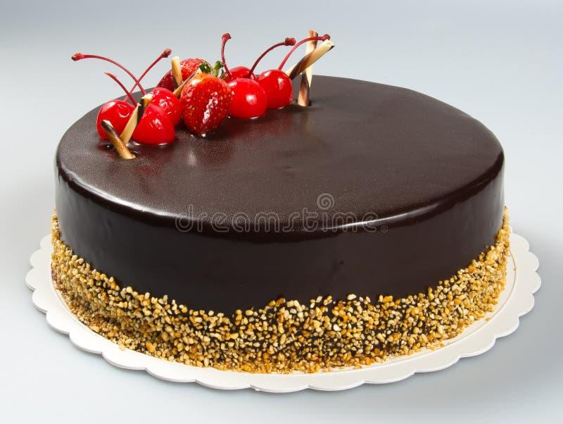 durcissez ou durcissez avec les fraises et le chocolat sur un fond image libre de droits