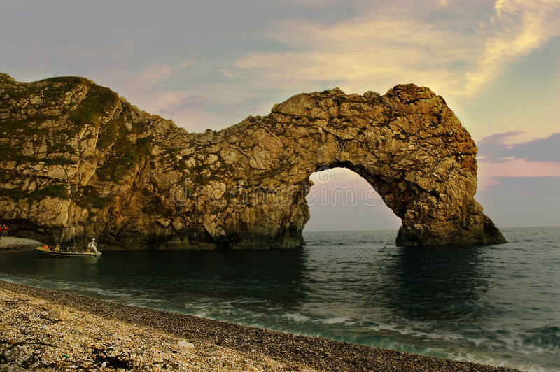 Durdle Door. royalty free stock images