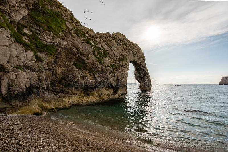 Durdle door in Dorset royalty free stock photos