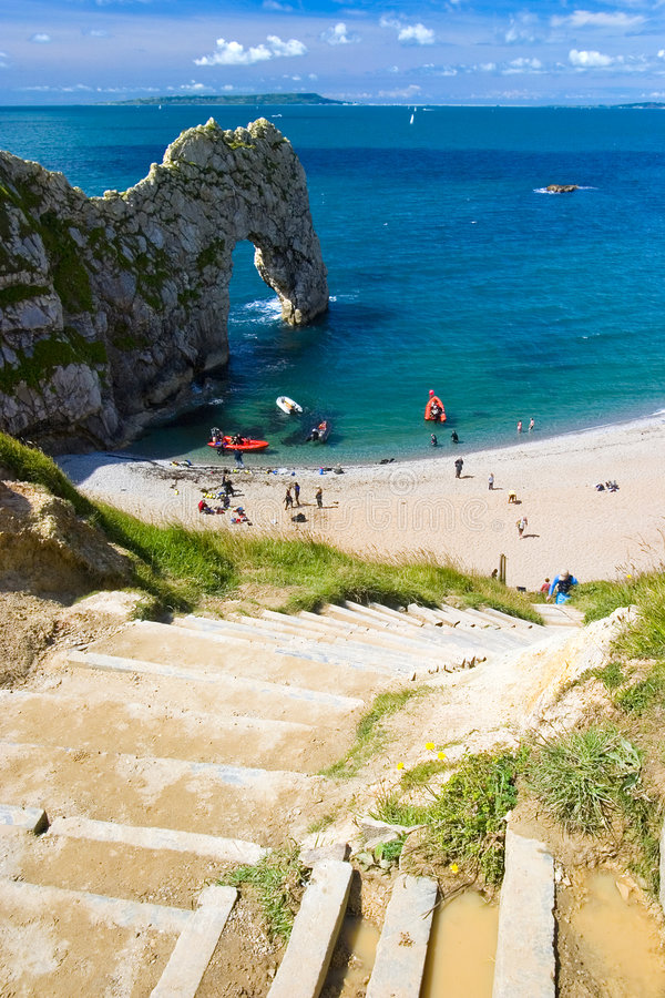 Free Durdle Door Jurassic Coast Royalty Free Stock Images - 3922239