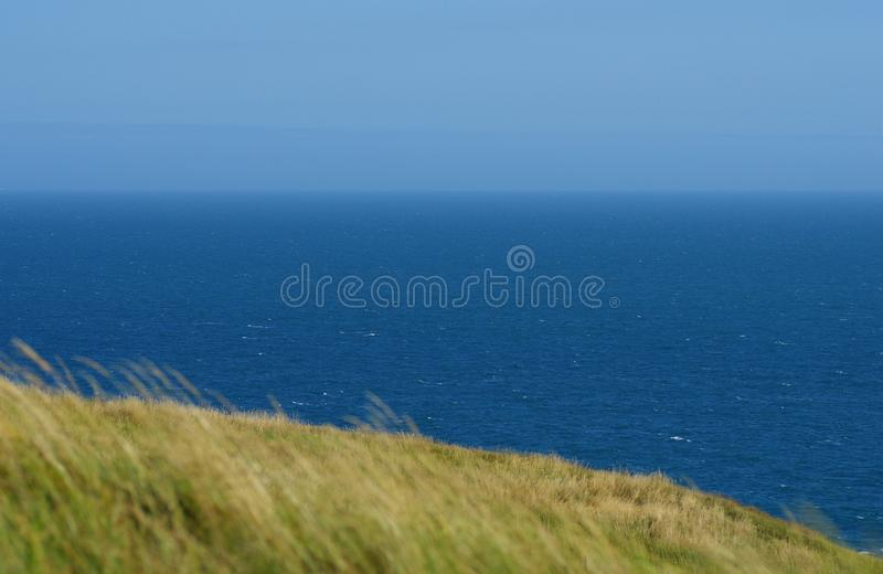 Durdle Door, one of the Jurassic Coast`s most iconic landscapes during summer season stock photography