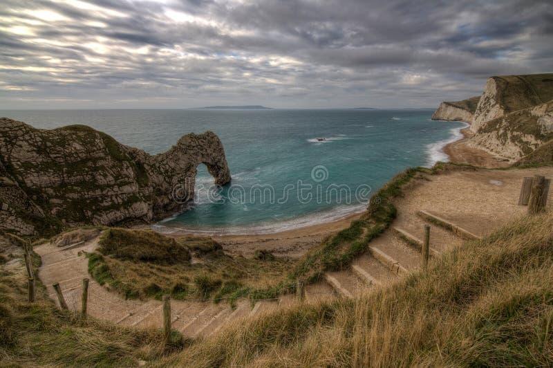 Durdle drzwi Dorset obraz royalty free