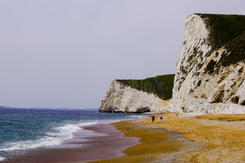 Durdle-Tür Cliff View stockbild