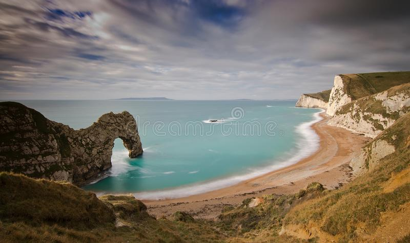 Durdle-Tür Dorset lizenzfreie stockfotos