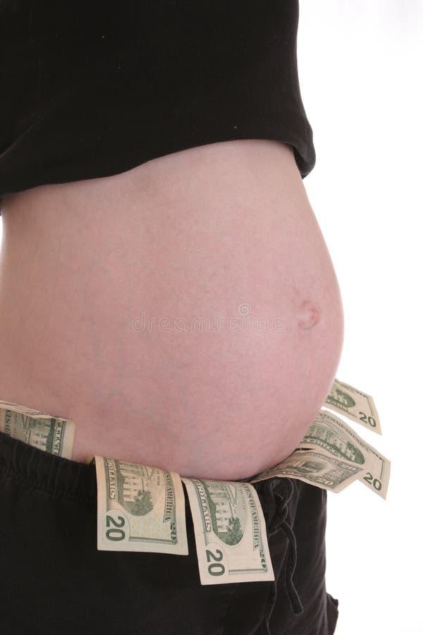 Dure Zwangerschap 1 royalty-vrije stock afbeelding