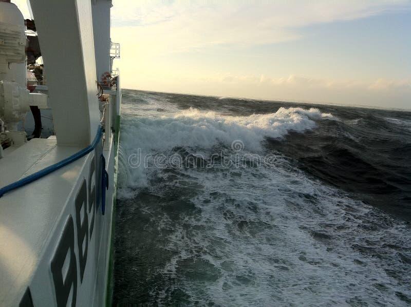 Dureza del océano fotos de archivo libres de regalías