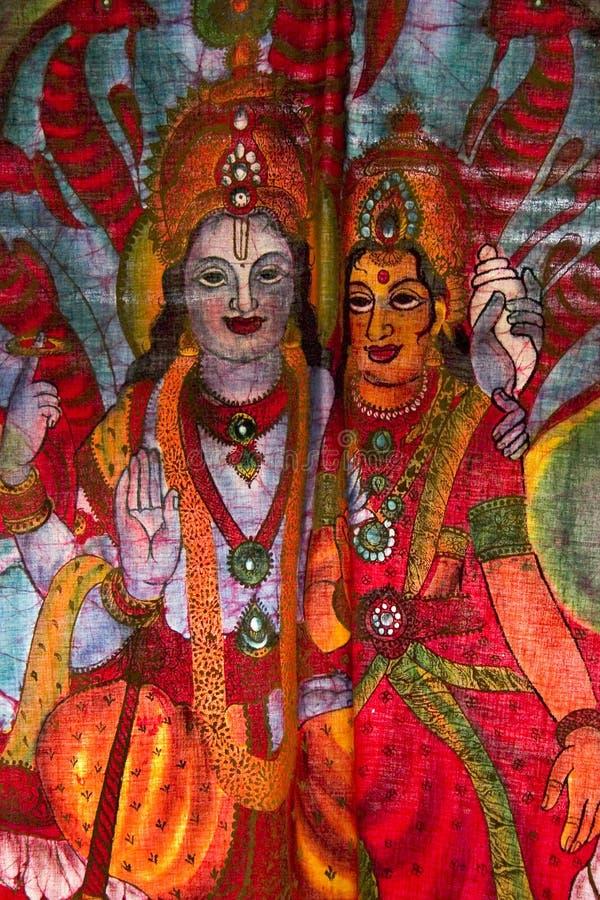 Durga Fotografie Stock Libere da Diritti