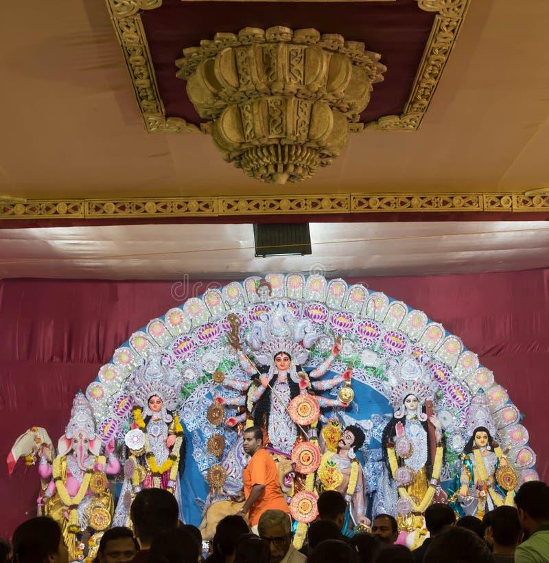 Durga Festival stock afbeelding