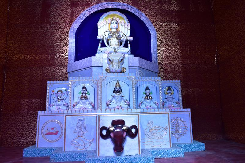 Durga Icon stock images