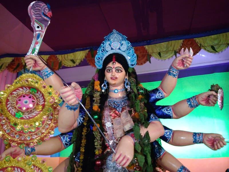 Durga Idol imagen de archivo