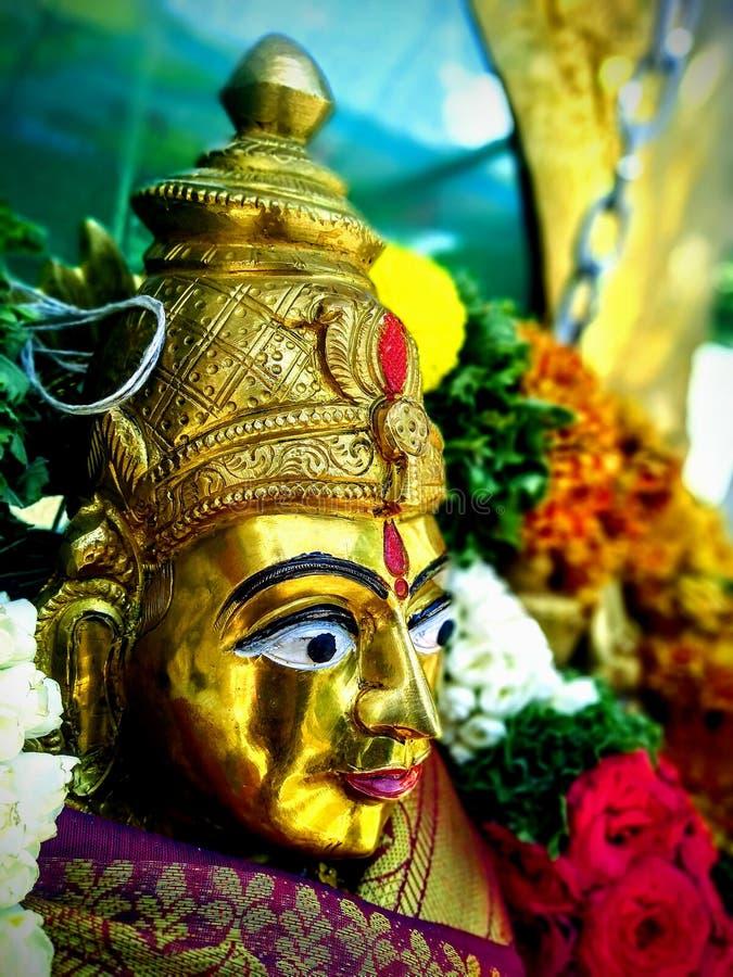 Durga Idol stock afbeeldingen