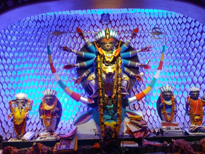 Durga Idol royaltyfria foton
