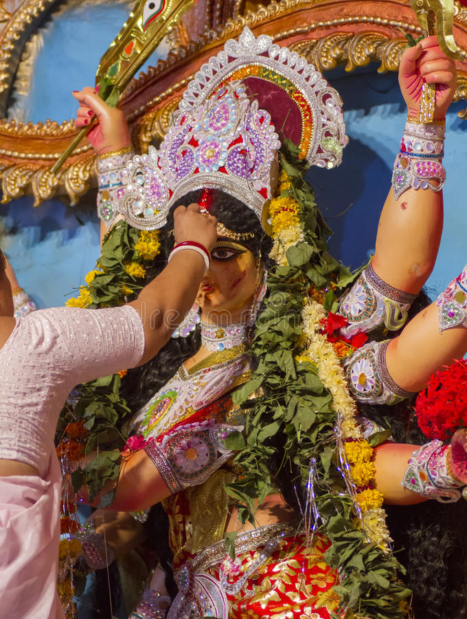 Durga Pooja stock photography