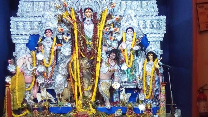 Durga Puja 库存照片