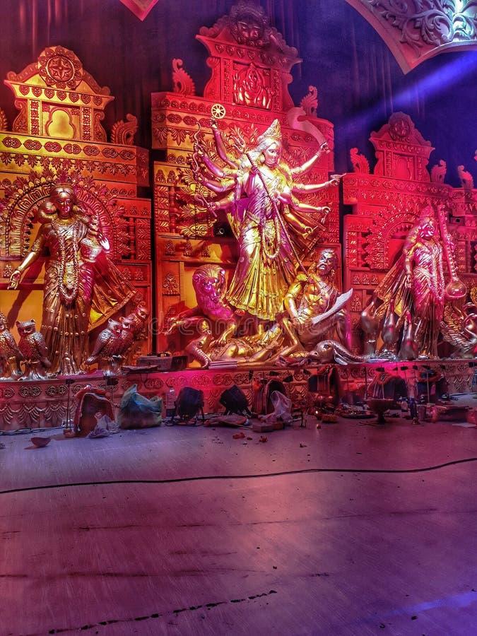 Durga Puja imagenes de archivo