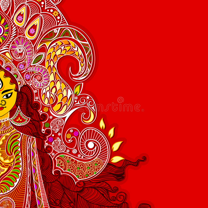 Free Durga Puja Royalty Free Stock Photos - 26854658